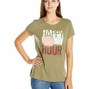 Life is Good Womens T-Shirt Happy Hour
